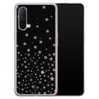 Casimoda OnePlus Nord CE 5G siliconen hoesje - Falling stars
