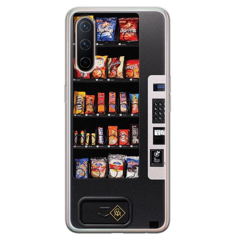 Casimoda OnePlus Nord CE 5G siliconen hoesje - Snoepautomaat