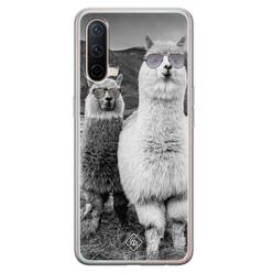 Casimoda OnePlus Nord CE 5G siliconen hoesje - Llama hipster