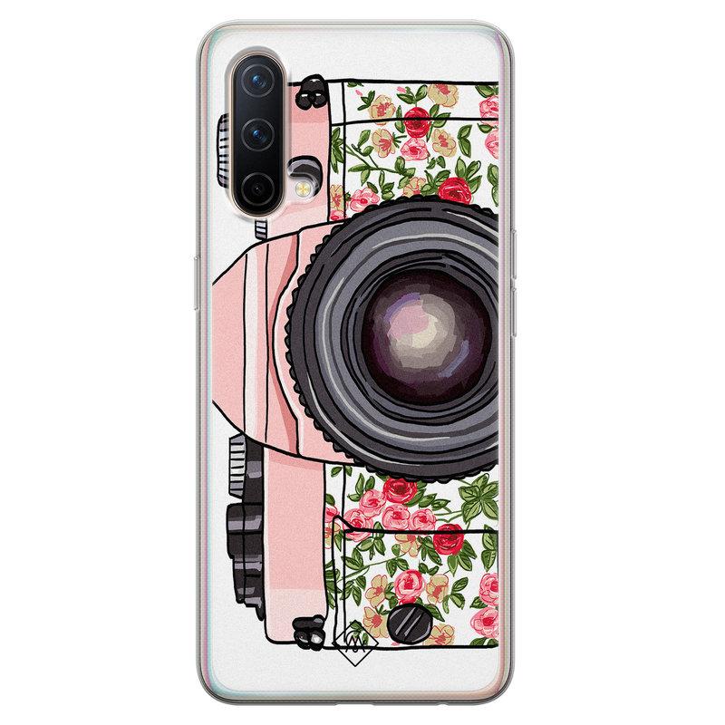 Casimoda OnePlus Nord CE 5G siliconen telefoonhoesje - Hippie camera