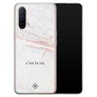 Casimoda OnePlus Nord CE 5G siliconen telefoonhoesje - C'est la vie