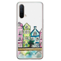 Casimoda OnePlus Nord CE 5G siliconen telefoonhoesje - Amsterdam