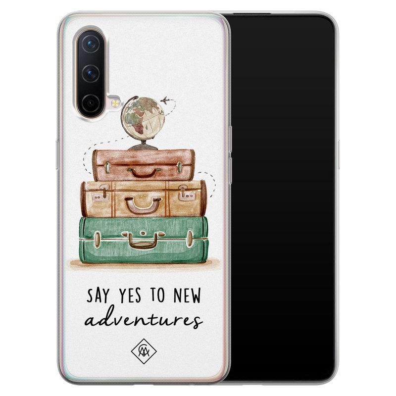 Casimoda OnePlus Nord CE 5G siliconen hoesje - Wanderlust