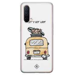 Casimoda OnePlus Nord CE 5G siliconen hoesje - Let's get lost