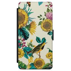 Casimoda Samsung Galaxy S21 flipcase - Sunflowers