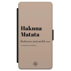 Casimoda Samsung Galaxy S21 flipcase - Hakuna Matata