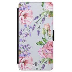 Casimoda Samsung Galaxy S21 flipcase - Floral garden