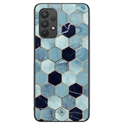 Casimoda Samsung Galaxy A32 4G hoesje - Blue cubes