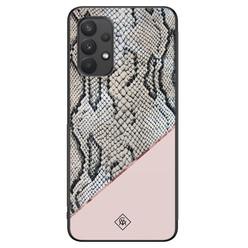 Casimoda Samsung Galaxy A32 4G hoesje - Snake print