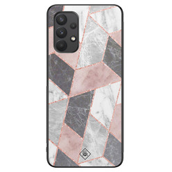 Casimoda Samsung Galaxy A32 4G hoesje - Stone grid