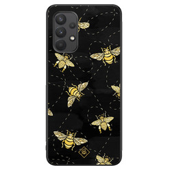 Casimoda Samsung Galaxy A32 4G hoesje - Bee yourself