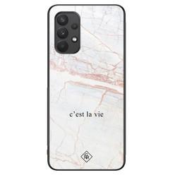Casimoda Samsung Galaxy A32 4G hoesje - C'est la vie