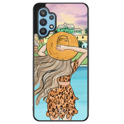 Casimoda Samsung Galaxy A32 5G hoesje - Sunset girl