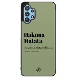 Casimoda Samsung Galaxy A32 5G hoesje - Hakuna Matata