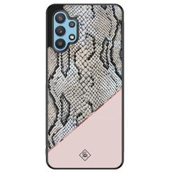 Casimoda Samsung Galaxy A32 5G hoesje - Snake print