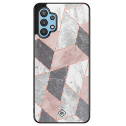 Casimoda Samsung Galaxy A32 5G hoesje - Stone grid