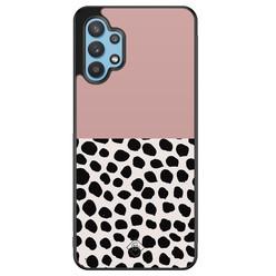 Casimoda Samsung Galaxy A32 5G hoesje - Pink dots