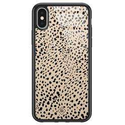 Casimoda iPhone X/XS glazen hardcase - Spot on