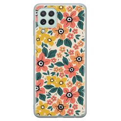 Casimoda Samsung Galaxy A22 4G siliconen hoesje - Blossom