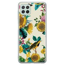 Casimoda Samsung Galaxy A22 4G siliconen hoesje - Sunflowers