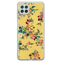 Casimoda Samsung Galaxy A22 4G siliconen hoesje - Floral days