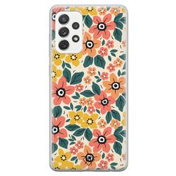 Casimoda Samsung Galaxy A52s siliconen hoesje - Blossom