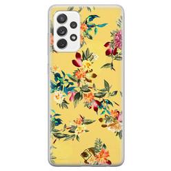 Casimoda Samsung Galaxy A52s siliconen hoesje - Floral days
