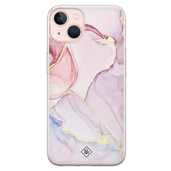 Casimoda iPhone 13 siliconen hoesje - Purple sky