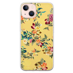 Casimoda iPhone 13 siliconen hoesje - Floral days