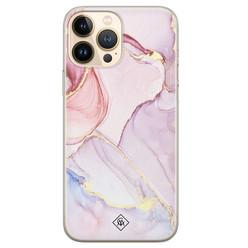 Casimoda iPhone 13 Pro Max siliconen hoesje - Purple sky