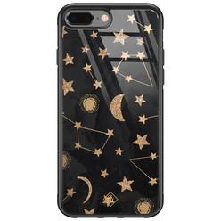 Casimoda iPhone 8 Plus/7 Plus glazen hardcase - Counting the stars