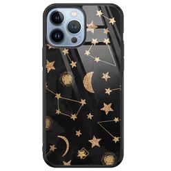 Casimoda iPhone 13 Pro Max glazen hardcase - Counting the stars
