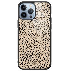 Casimoda iPhone 13 Pro Max glazen hardcase - Spot on