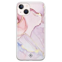 Casimoda iPhone 13 mini siliconen hoesje - Purple sky