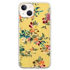 Casimoda iPhone 13 mini siliconen hoesje - Floral days