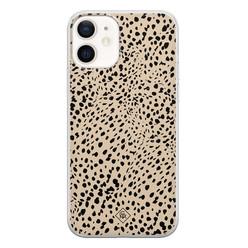 Casimoda iPhone 12 siliconen hoesje - Spot on