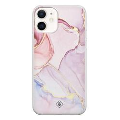 Casimoda iPhone 12 siliconen hoesje - Purple sky
