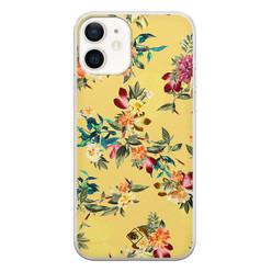 Casimoda iPhone 12 siliconen hoesje - Floral days