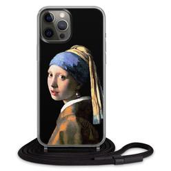 Casimoda iPhone 12 / iPhone 12 Pro - Hoesje met koord ontwerpen