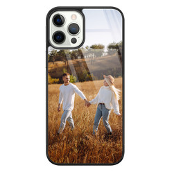 Casimoda iPhone 12 / iPhone 12 Pro - Glazen hardcase ontwerpen
