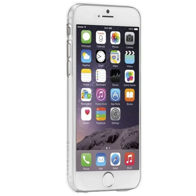 iPhone 6/6s hoesje - Barely there transparant