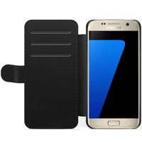 Samsung Galaxy S7 Edge flipcase hoesje - Irreplaceable