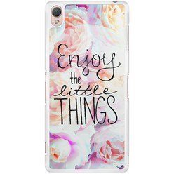 Sony Xperia Z3 hoesje - Enjoy the little things