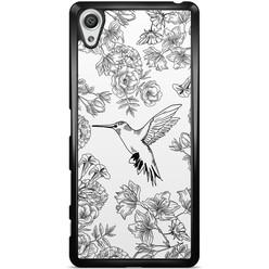 Sony Xperia X hoesje - Hummingbird