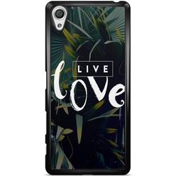 Sony Xperia X hoesje - Live love