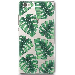 Huawei P8 Lite hoesje - Palm leaves