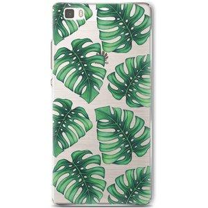 Huawei P8 Lite hoesje - Palm leaves