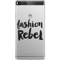 Huawei P8 hoesje - Fashion rebel