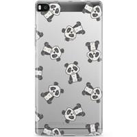 Casimoda Huawei P8 hoesje - Panda