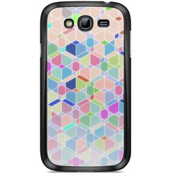 Samsung Galaxy Grand (Neo) hoesje - Rainbow cubes